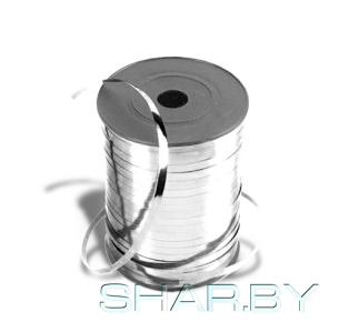 Лента металлизир 5ммХ250м серебро