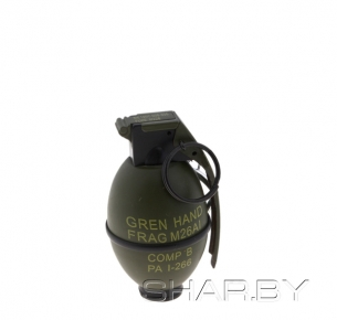 Зажигалка Ручная осколочная граната m26 a1