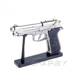 Зажигалка Beretta 92FS Inox