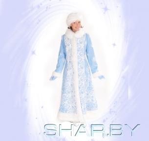 Новогодний костюм взрослый Снегурочка