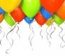 Время полета воздушных шариков
