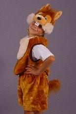 Новгодний костюм детский Бурундучок