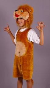 Новогодний костюм детский Львенок