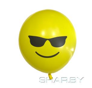 Шар с рисунком Emoji Очки