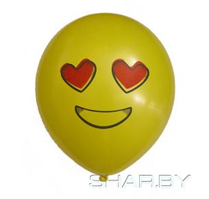 Шар с рисунком Emoji 3
