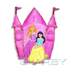 Принцессы и Замок розовый