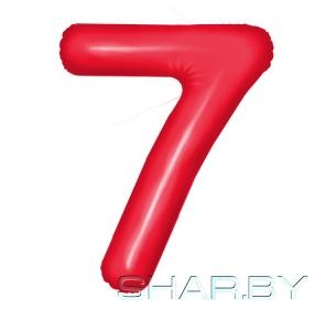 """Цифра """"7"""" Красная"""