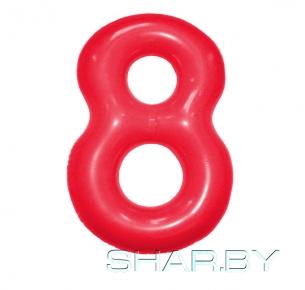 """Цифра """"8"""" Красная"""